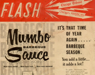Mumbo Barbeque Sauce - Historic Summer Chicago Tribune Advertisement