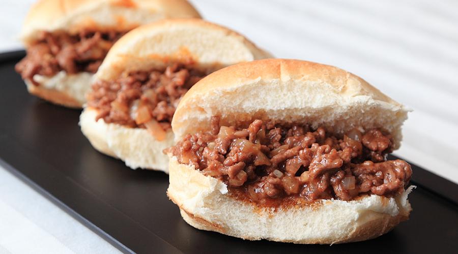 Saucy BBQ Beef Sliders