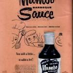 MUMBO Sauce historical ad