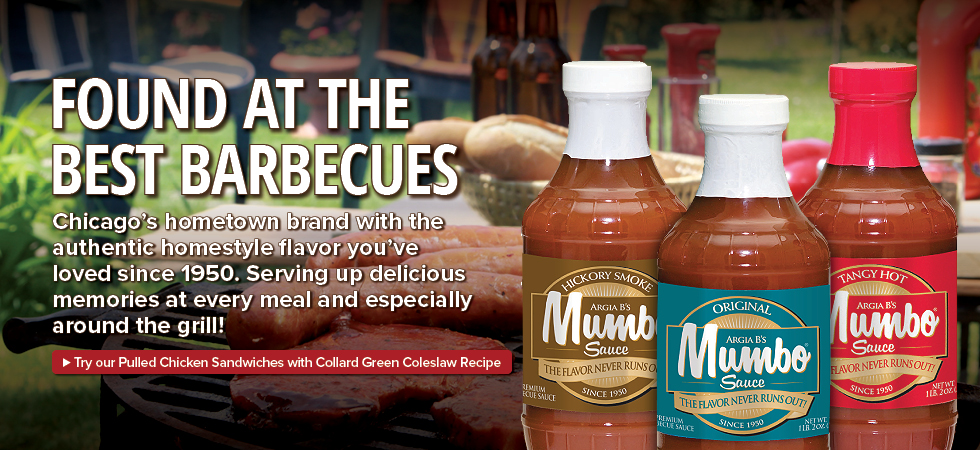 MUMBO Sauce is found at the best barbecues