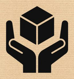 shipping and handling icon