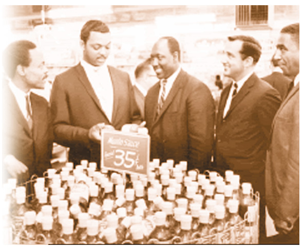 Talk about a price roll back! MUMBO SAUCE on sale at major grocery chain for a whopping 35 cents circa 1965