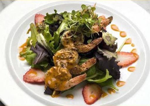 MUMBO Glazed Shrimp Salad