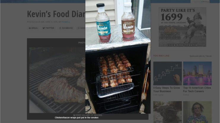 Mumbo Sauce for Grilling