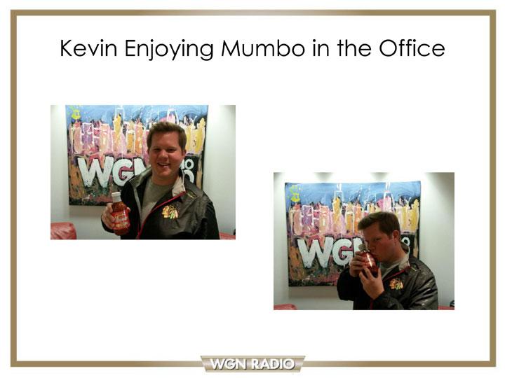 Kevin Powell loves MUMBO Sauce!