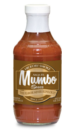 Hickory MUMBO BBQ Sauce Label