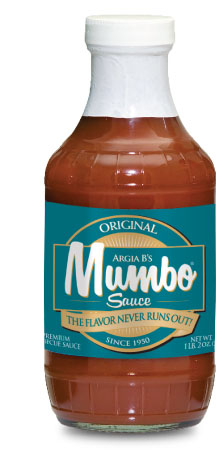 Original MUMBO BBQ Sauce Label