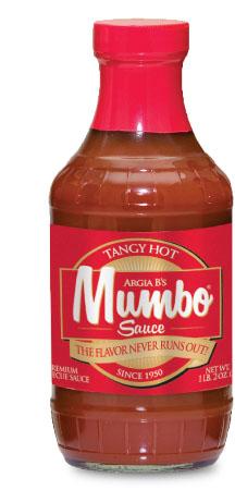 Tangy MUMBO BBQ Sauce Label