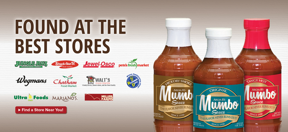 MUMBO Sauce is available at a store near you!