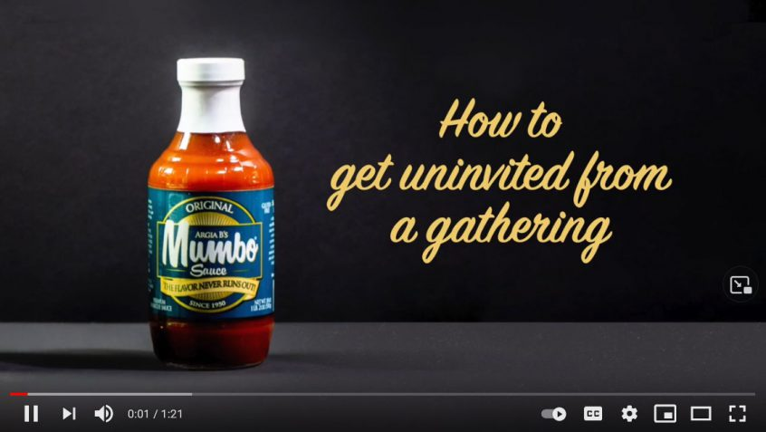 How to get uninvited